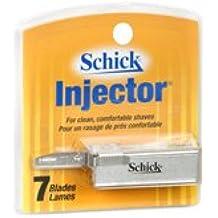 Schick Inject Plus Chrom Size 7ct Schick Injector Plus Chromium Blades 7ct Pkg