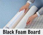 Elmers Self Adhesive Black Foam Board 32x40x3/16 -25 Sheets