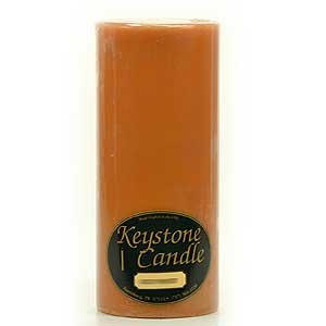 Spiced Pumpkin 4x9 Pillar Candle For Wedding/Dinner, Holiday Event, Home Decoration, 100 to 120 hours, 4 in. diameterx9.25 in. tall, 1 Piece