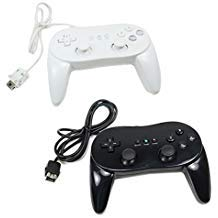 Classic Controller For Nintendo Wii White and Black 2 Pack (Super Mario World Wii U Virtual Console)