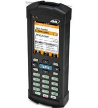 AML LDX10-0003-00 Batch Data Collection Handheld Computer, CCD Scanner, DC Suite SW, 3, 200 MAH Battery, 24-Key Alphanumeric Keyboard by AML