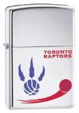 Zippo Lighter NBA Toronto Raptors, High Polished Chrome