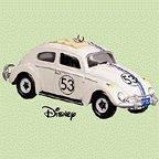 Love Bug Keepsake - QXD5071 Amazing No. 53 Walt Disney's Herbie, The Love Bug 2004 Hallmark Keepsake Ornament