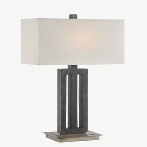 Lite Source LS-22452 Wyman Table Lamp, 8″ x 15″ x 29″ Review