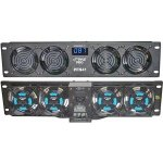 3) PYLE PRO PFN41 19'' Rack Mount Cooling 4 Fans System w/Temperature LED Display by Pyle Pro (Image #1)