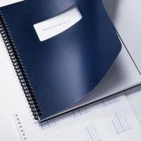 Regency Premium Presentation Covers- Letter 11in x 8.5in Window- Navy