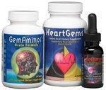 Gematria - Ultimate Brain Support (GemAminos, HeartGems & ReCharge)