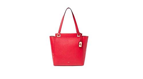 Ralph Lauren , Sac pour femme à porter à l'épaule rouge rouge