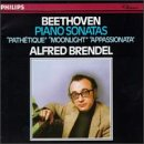 Beethoven: Piano Sonatas - Moonlight, Pathetique, Appassionata Alfred Brendel Beethoven Piano Sonatas