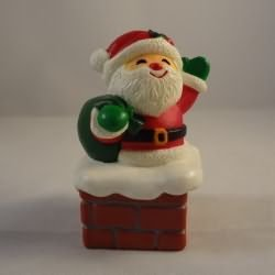 Santa in Chimney Box Hallmark Merry Miniature XHA3451
