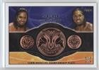 The USO's (Trading Card) 2015 Topps WWE - Commemorative Championship Plates #THUS