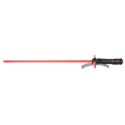 Star Wars The Black Series Kylo Ren Force FX Deluxe Lightsaber (Amazon Exclusive)]()