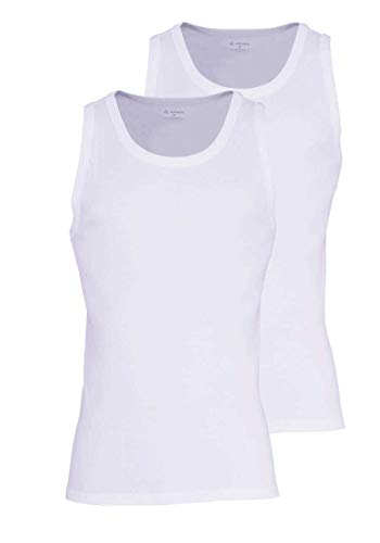 Vest White Modern Jockey Classic Athletic 2 Top pack 7HWFSqt