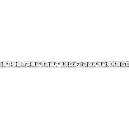 HISTOIRE D'OR - Rivière Or et Diamant - Femme - Or blanc 375/1000 - Taille Unique