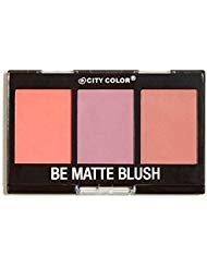 City Color Cosmetics Be Matte Blush in Fresh Melon, Blackberry, and Guava - Cheek Trio