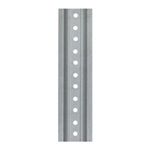 tapco 05400024 steel uchannel sign post 12 length