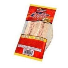 Landshire Smoked Turkey and Swiss Cheese Sandwich Wedge, ...