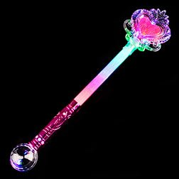 Flashing Princess Magic Ball Wand 21 Inch ()