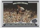 2004 Topps World Series Highlights (Jim Palmer (Baseball Card) 2004 Topps - World Series Highlights #WS-JP.1)