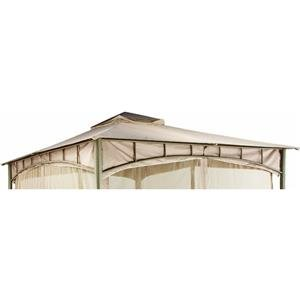 Double Roof Style Garden House Replacement Gazebo Canopy
