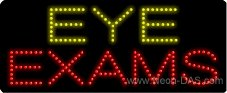 Eye Exams Outdoor LED Sign 13 x 32 ()
