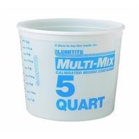 LEAKTITE 10M3-50 5-Quart Mixing (5 Qt Paper Paint Pot)