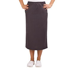 Scrub Skirt By White Swan Uniforms (Granite, XX-Large) by Fundamentals