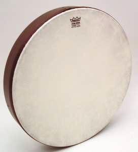 "Banjo Snare Marching Dejembe Bodhran Frame Hand Drum 16/"" UNCUT NATURAL Skin Head"