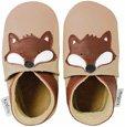 Zapatos Bobux bebé - Guantes Fox ecru - tamaño 3 XL