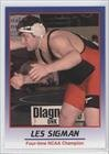 Les Sigman (Trading Card) 2008 ProImage Heroes of Wrestling II - [Base] #LESI