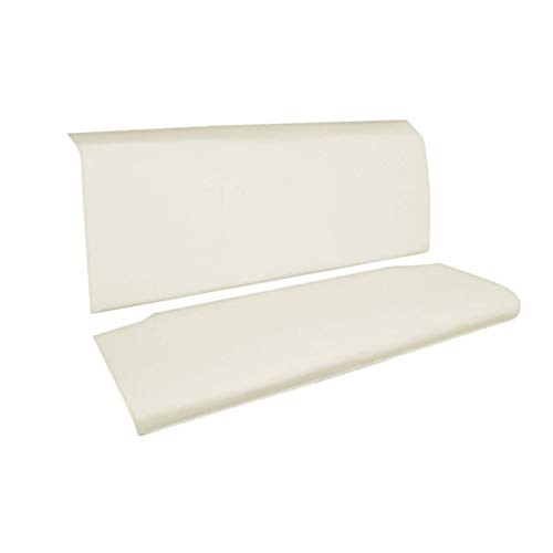 Eckler's Premier Quality Products 40-138077 - Chevy 2-Door Hardtop & Convertible Rear Seat Foam ()
