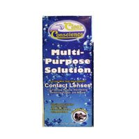 Clear Conscience Multi Purpose Solution for Soft Contact Lenses, 12 Ounce