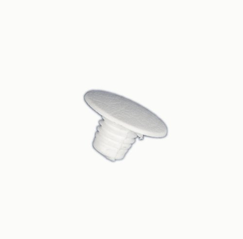 LG Electronics 5006JJ3016D Refrigerator Handle Cap Plug Button, Gray