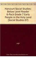 Read Online Harcourt Social Studies: Reader 6-pack Below-Level Grade 7 Early People in the Holy Land ebook