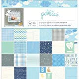 Pebbles 48-Sheet Special Delivery Boy Paper Pad, 12 by 12-Inch