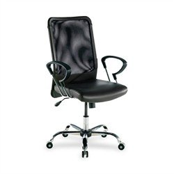 Lorell Executive High-Back Chair,24-3/4