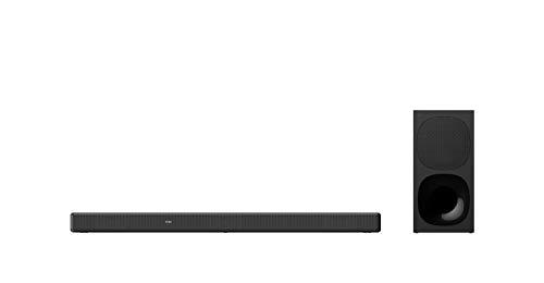 Sony HT-G700 – Barra de Sonido TV 3.1 (Dolby Atmos, DTS:X, subwoofer inalámbrico, Bluetooth, 400 W, óptimo para…