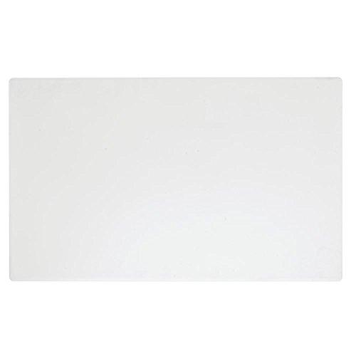 Hubert Salad Bar Tile Solid Full Size White Melamine - 21