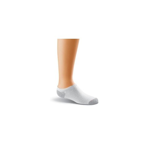 Hanes Girls Low Sock White product image