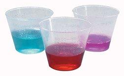 Plastic Medicine Cups 100/tube