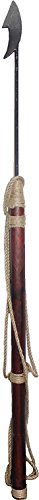 """Nautical Tropical Imports 57"""" L Decorative Harpoon with Steel Tip"""