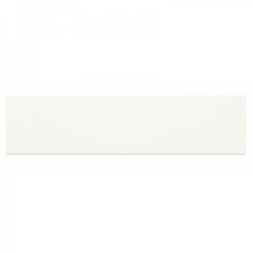 White 2×8 Artisan Handmade look , Subway Tile, Undulated tile, Backsplash, Wall tile, (Sample)