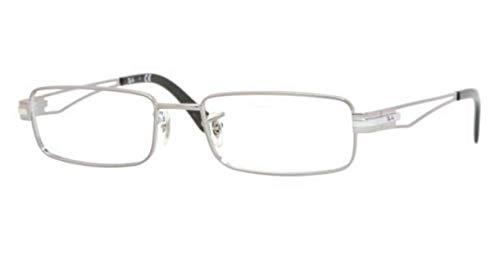 Ray Ban RX6193 2502 Eyeglasses Gunmetal 53-17-140 (Ray-ban 2502)