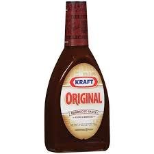 Kraft Barbecue Sauce Original Barbecue Sauce, 39 Ounce