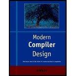 Modern Compiler Design (00) by [Paperback (2000)]