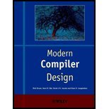 Modern Compiler Design (00) by [Paperback (2000)] by Wiley, Paperback(2000)