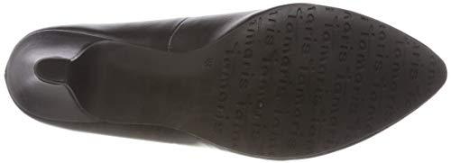 Black Tacco con Donna Nero 22416 Scarpe 21 20 Matt Tamaris 4wqxF0Iag