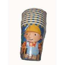 Bob the Builder Paper Cups, 8ct