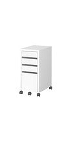 IKEA - MICKE Drawer unit/drop file storage, white by IKEA