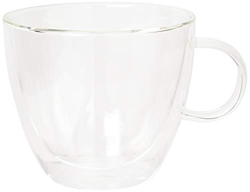 Villeroy & Boch 1172438082 Artesano Hot Beverages Cup (Set of 2), Large, Clear